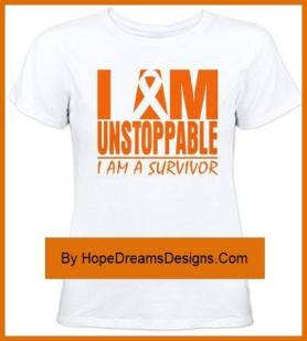 I am Unstoppable Cancer Survivor Slogan and Motto!